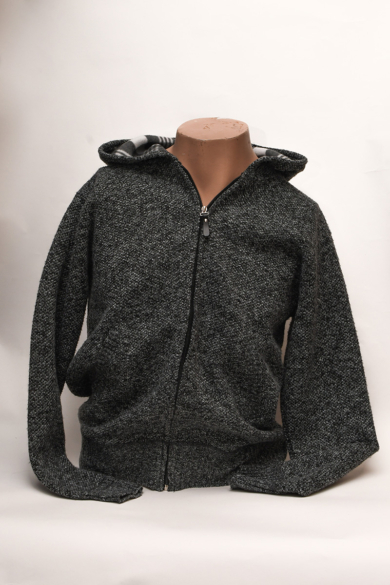 Rewpin férfi szürke kötött pulóver